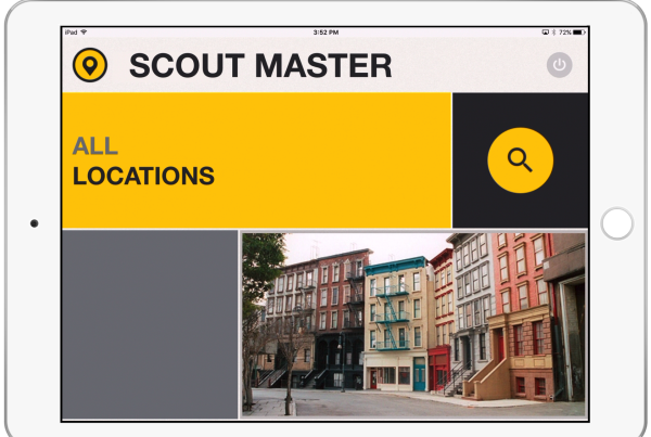 scout-master-location-scouting-app-home-screen