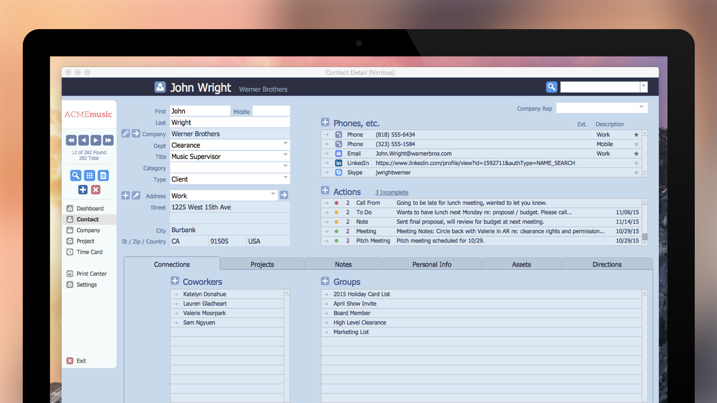 nimbus-crm-contact-management-for-FileMaker-Pro